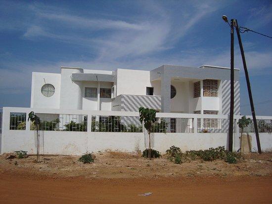 Thies Region, Senegal: Les bureaux du RESOPP (coopération belge au Sénégal)