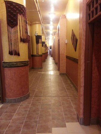 Ghani Palace Hotel : les longs couloirs
