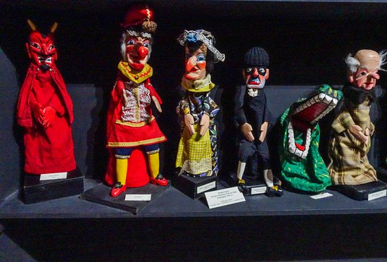 Il Museo internazionale delle marionette : Punch & Judy (UK)