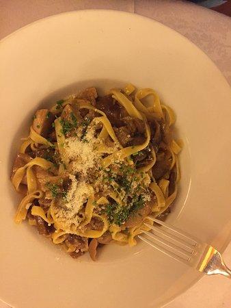 Restaurant Ustaria Posta: Spek val pusteria e formaggi tipici, tagliatelle ai funghi, spetzle!