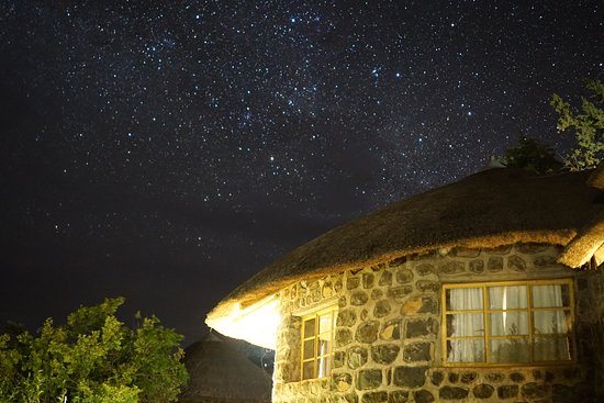 Semonkong, เลโซโท: 星空もよく見えます。