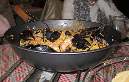 Paella made in Carnago