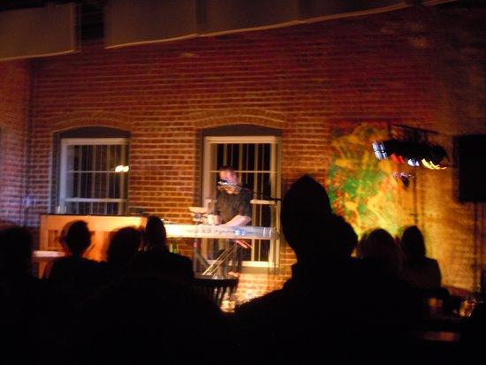 Hawley, PA: Wade Preston on keyboard at Harmony Presents