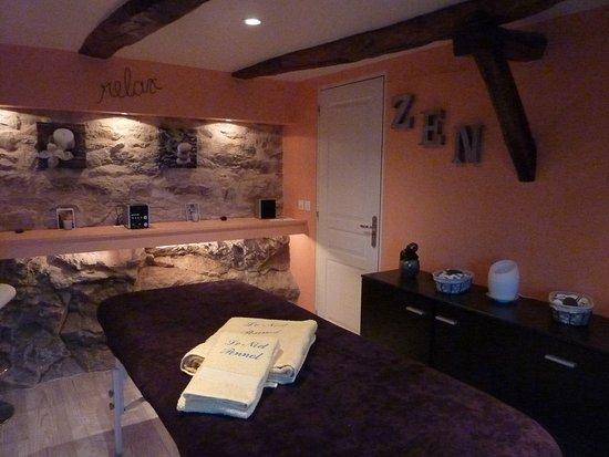 Penne, France: salle de massages
