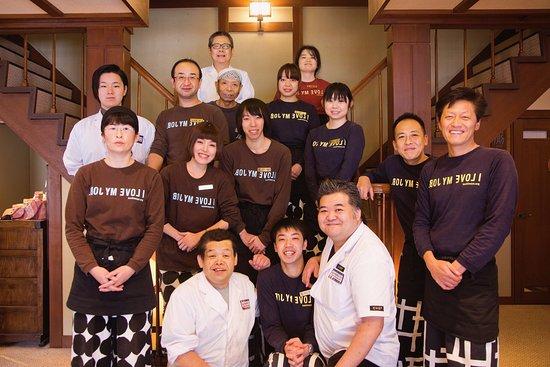 Shima Onsen Kashiwaya Ryokan: Our staff members