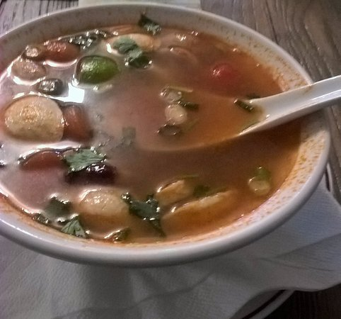 Brighton and Hove, UK: Mushroom Tom Yum