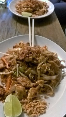 Brighton and Hove, UK: More Pad Thai