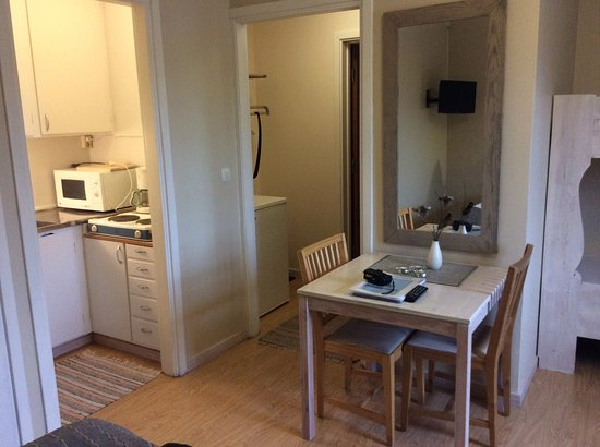 Sarna, Sweden: All rooms has shower, toilet and pantry