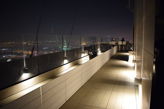 Rooftop Bar Bild Von Hyatt Regency Dubai Creek Heights Dubai
