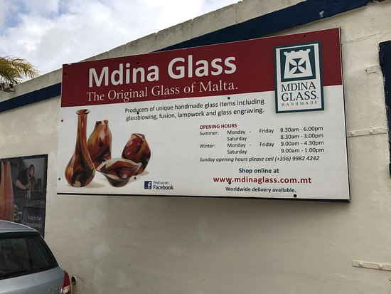 Mdina Glass: photo1.jpg