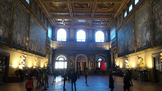 Florence Inferno: The Hall of Five Hundred, Palazzo Vechio