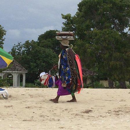 Saint Mary Parish, Antigua: Beach Seller
