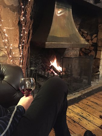 Redesdale Arms Hotel: Very cozy!