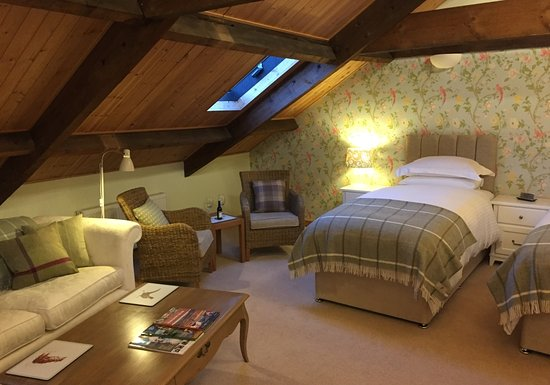 Redmire, UK: The Swaledale Room - Twin bed option