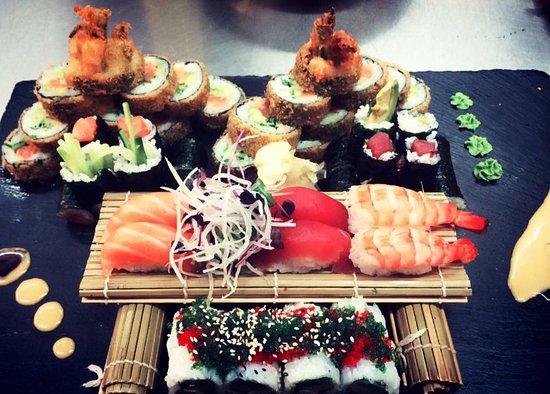 Homburg, Alemania: Yedo sushi