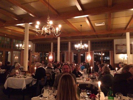 Hotel Van der Werff: diner zaal