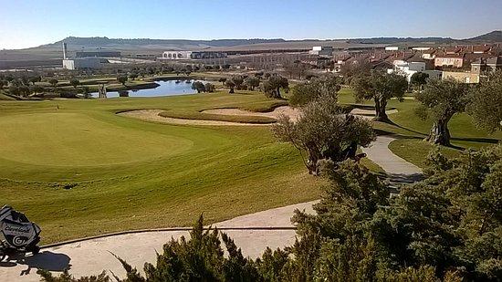 Arroyo de la Encomienda, إسبانيا: Vistas de los campos desde el restaurante