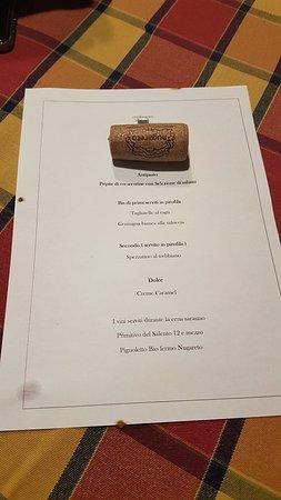 menù - Foto di Circolo mazzini, Bologna - Tripadvisor