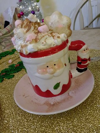 Burscough, UK: Loaded hot chocolate