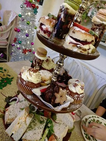 Burscough, UK: Christmas afternoon tea