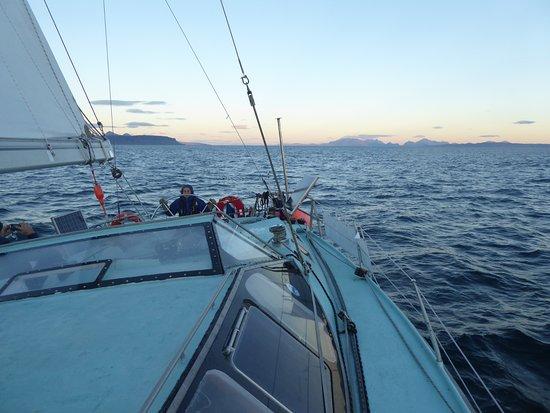 Isle of Eigg, UK: Early morning sailing