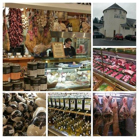 Blair Atholl, UK: Collage van de etenswaren-afdeling