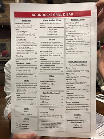 "Green Cove Springs, FL: ""First Run"" Menu"