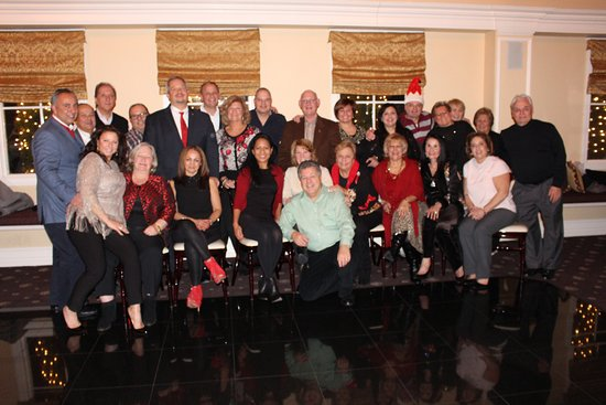 Hackensack, NJ: Our Rotary Club's Holiday party.
