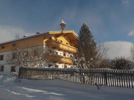 Hollersbach im Pinzgau, ออสเตรีย: Der Lahnhof im Winter