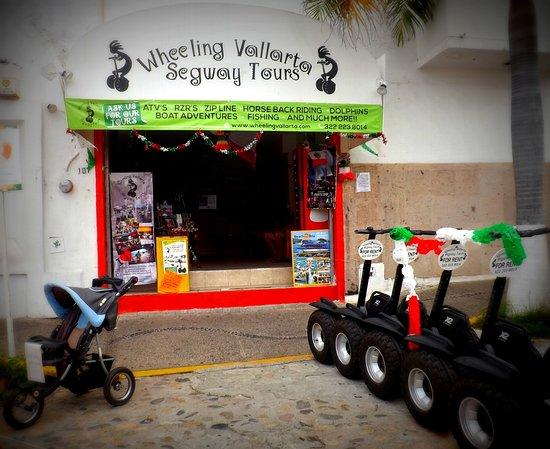 Wheeling Vallarta Segway Tours