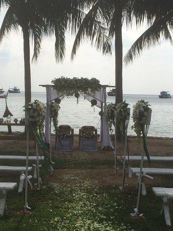 Koh Tao Cabana: Wedding at The hotel