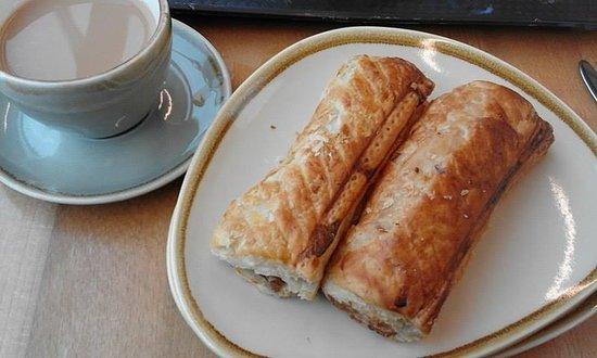 Uffculme, UK: tea shop