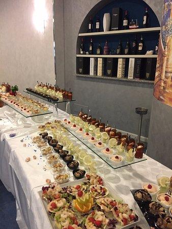 Bovalino Marina, Italie : il nostro buffet di dolci