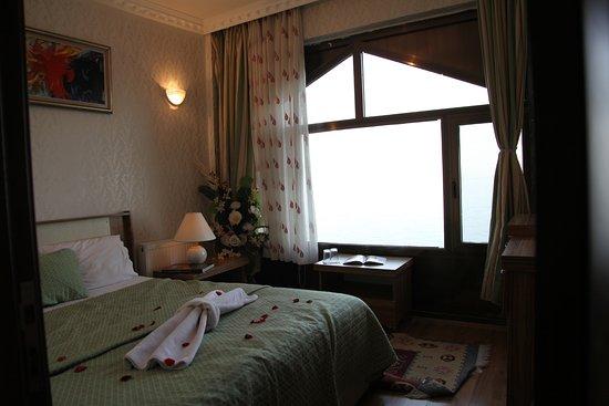 Ahlat, Turkey: süit odanın yatak odası