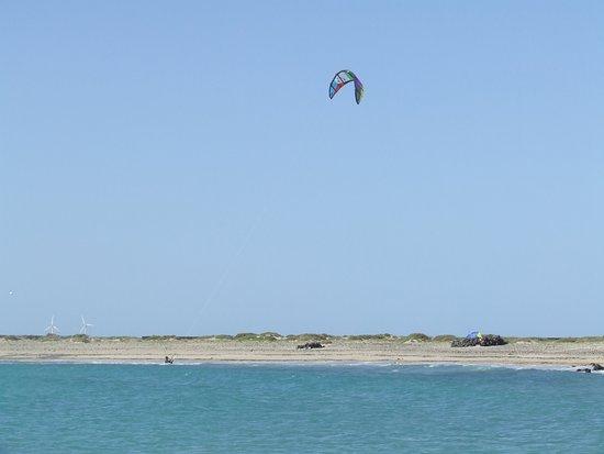 Isla de Lobos: Kite