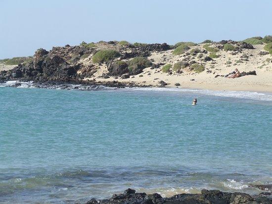 Isla de Lobos: the bay