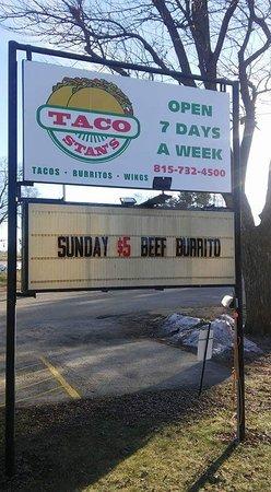 Oregon, IL: Taco Stan's
