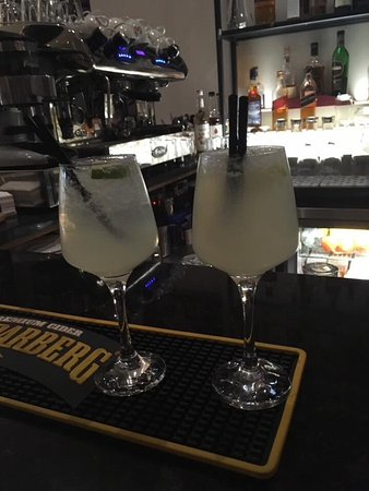 Tain, UK: Gorgeous cocktails