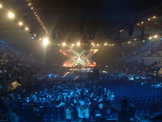 X Factor Final at Wembley Arena. © Liam F Photos