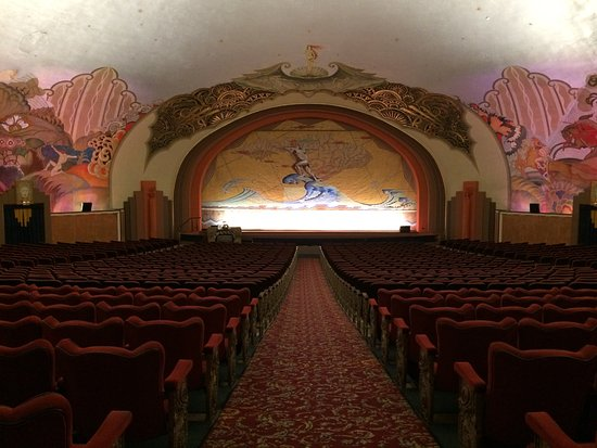 """Catalina Island Casino: One of the first theaters in the country to show """"talkies""""."""
