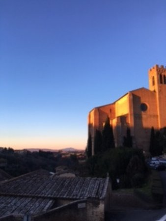 Campo Regio Relais: Sunrise view from the breakfast room