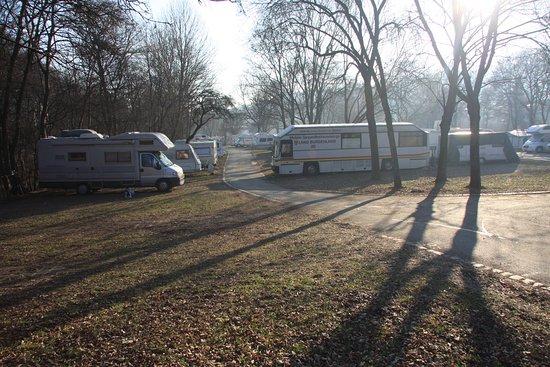 Camping Vienna West: il campeggio