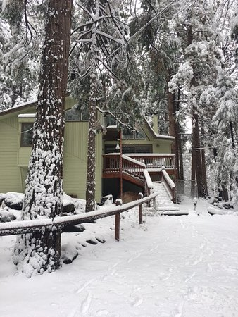 Idyllwild, Kalifornien: Cabin in the snow!
