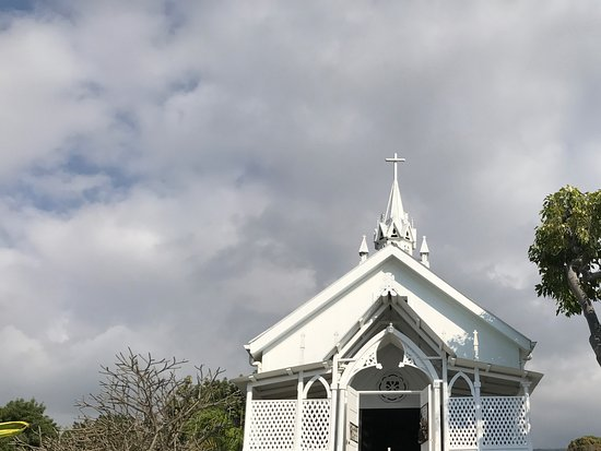 Honaunau, Hawái: Church exterior