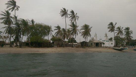 Jinack Island, Gambia: Kajata village