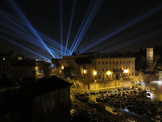 Fortyseven Hotel Rome: Aussicht-Terrasse am Silvester