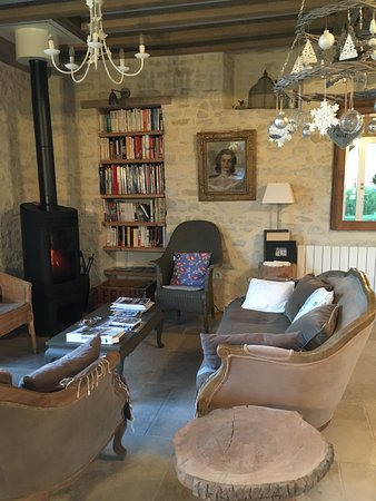 Isigny-sur-Mer, ฝรั่งเศส: living room