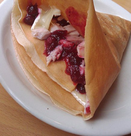 Silverdale, WA: Turkey, Cranberry & Brie or Cream Cheese.  Very popular!