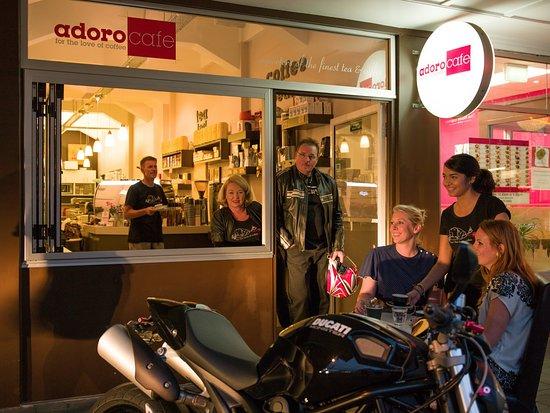 Adoro Cafe: old Adoro