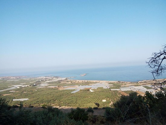 Falassarna beach from the top